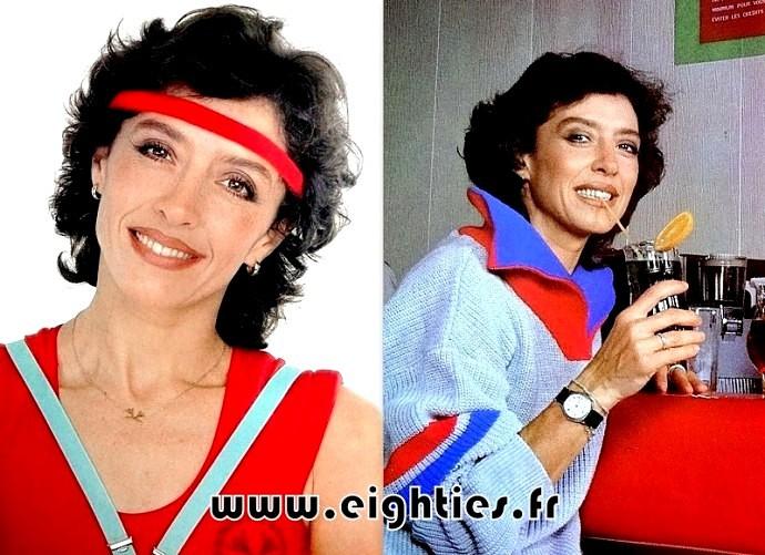 Davina émission gym tonic des années 80