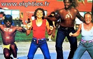 Véronique et davina gym des années 80