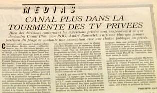 journal canal plus annees 80