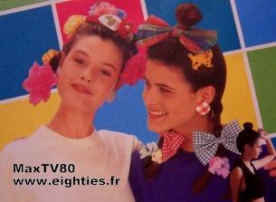 jeune et jolie magazine presse années 80 's kitch kitsch vanessa paradis mode adolescentes fun