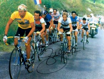 années 80 80's eighties sport cyclisme velo Laurent fignon
