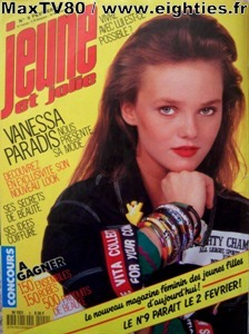 le magazine jeune et jolie 1987 eighties. Black Bedroom Furniture Sets. Home Design Ideas