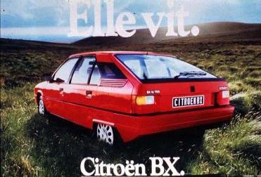 bx citroen voiture années 80 automobile