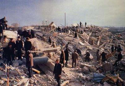 armenie tremblement de terre sésisme 1988 disque aznavour