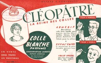 Annes 60 ancienne colle cleopatre vintage ancien pot