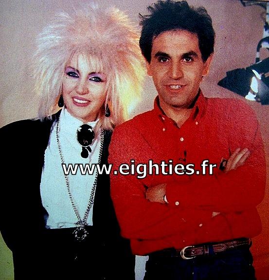 ivana, spagna, singer, chanteuse, call me, easy lady, années 80, top, 50, Marc Toesca, 80's, annees 80, musique, punk, punkette