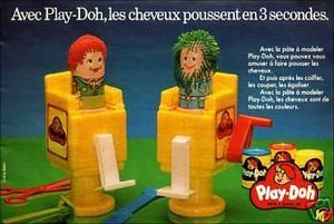 jeux jouets jouet jeu annees 80 annee 80 années 80 coiffeur salon de coiffure pate à modeler playdoh play doh play-doh fun kitsch kitch souvenir enfant enfants enfance nostalgie trentenaire trentenaires