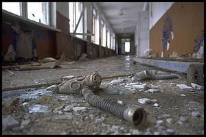 années 80 1986 drame tchernobyl centrale ukraine nucléaire carte