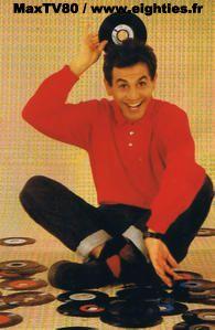 années 80 80's maxtv80 Marc toesca parrain communauté trentenaires nostalgie Top50 Top 50 canal+ Canal + salut les p'tits clous luna parker studio desireless disques musique hit parade europe 1 parrain parrainage generation80 emission