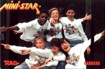 années 80, annees 80, 80's, ministars, mini-stars, danse autour de la terre, les mondes engloutis, un papa comme nous, norbert,