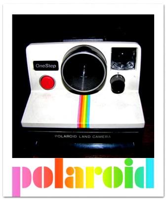 appareil photo polaroid années 80