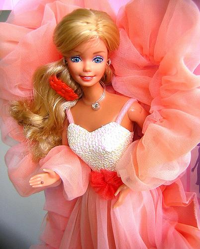 annees, années, 80, eighties, 80's, barbie, barbies, black, blacks, splendeur, crystal, peach, and, cream, poupées, poupée, Francie, Christie