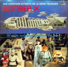 années, annees, 80, 80's, eighties, série, serie, feuilleton, jeunesse, bomber, X, marionnettes, japon