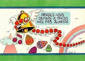 années, annees, 80, 80's, eighties, fr3, jeunesse, 1978, 1982, jac, lelievre, balthazar, mille, pattes, 1000, mascotte, nostalgie, souvenir, télé, tv