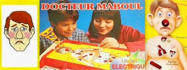 eighties jeu qui est ce MB Robert Docteur Maboul