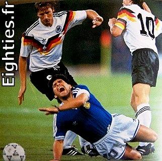 Mondial, foot, football, 1990, 1978, ANNEES 80, 80's eighties, soccer, world, argentine, agentina, italie, italia, platini, hidalgo, maradona, souvenirs, nostalgie, sport