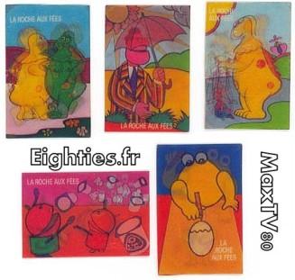 images, lenticulaires, magiques, magics, holograpiques, 70's, 3, dimensions, casimir, l'ile, aux, enfants, nostalgie