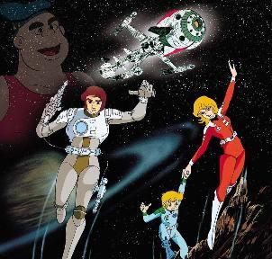 années, annees, 80, 80's, eighties, capitaine, flam, futur, future, space, espace, galaxie, dessin, animé, nostalgie, TF1, enfance, trentenaires, cyberlab, cosmolem