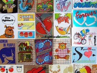années, annees, 80, 80's, eighties, Fantastickers, panini, stickers, autocollants, 1988, collection, collections, nostalgie, trentenaires