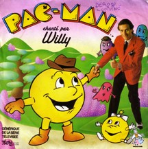 Disque 45 tours pacman William Leymergie