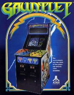 années, annees, 80, 80's, eighties, gauntlet, jeu, arcade, borne, jeux, vidéo, nostalgie, trentenaires, Thor, Thyra, questor, merlin