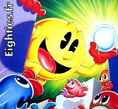 Pac man illustration jeu NES