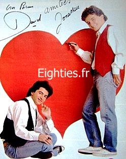 ANNEES, années, annees, 80, 80's, eighties, David_et_jonathan, TOP50, TOP_50, marc_toesca, canal+, canal_+, musique, nostalgie, souvenirs, bella vita, gina, vacances, kistch,