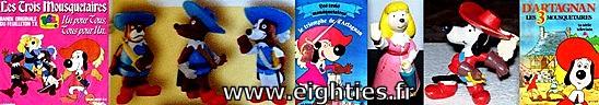 ANNEES, 80, 80's, eighties, les, 3 mousquetaires, chiens, toutous, dartagnan, TF1, nostalgie, dessins, dessin, animé, anime, cartoon, souvenirs, trentenaires,
