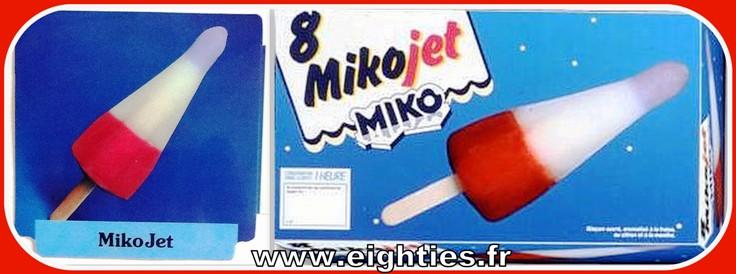 MikoJet glaces Miko fusée des années 80 Jet glaçon