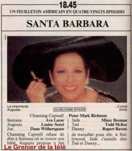 santa barbara 7nov1985 tele 7 jours copie