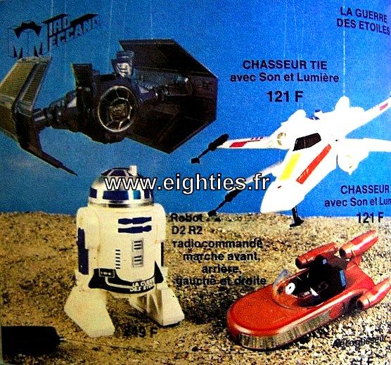 ANNEES 80,80's, eighties, catalogue, jeux, jouets, Noël, enfants, souvenirs, nostalgie, 1980, La samaritaine, cergy? star wars