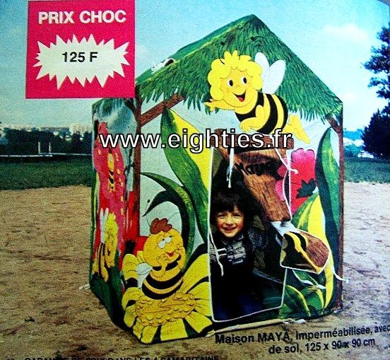 ANNEES 80,80's, eighties, catalogue, jeux, jouets, Noël, enfants, souvenirs, nostalgie, 1980, La samaritaine, cergy, tente maya l'abeille
