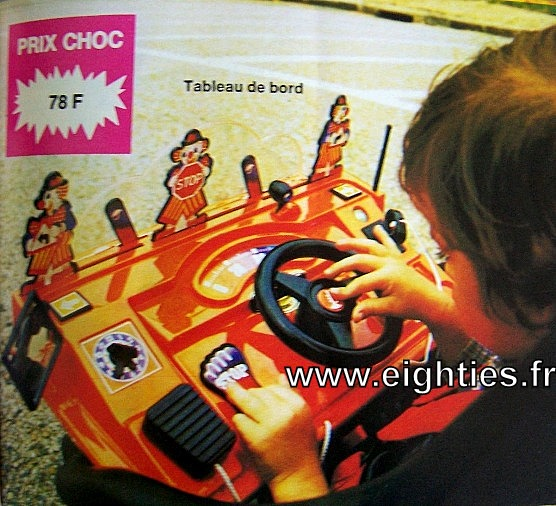 ANNEES 80,80's, eighties, catalogue, jeux, jouets, Noël, enfants, souvenirs, nostalgie, 1980, La samaritaine, cergy, tableau de bord