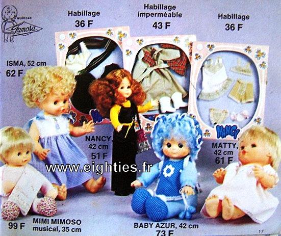 ANNEES 80,80's, eighties, catalogue, jeux, jouets, Noël, enfants, souvenirs, nostalgie, 1980, La samaritaine, cergy, poupées, famosa