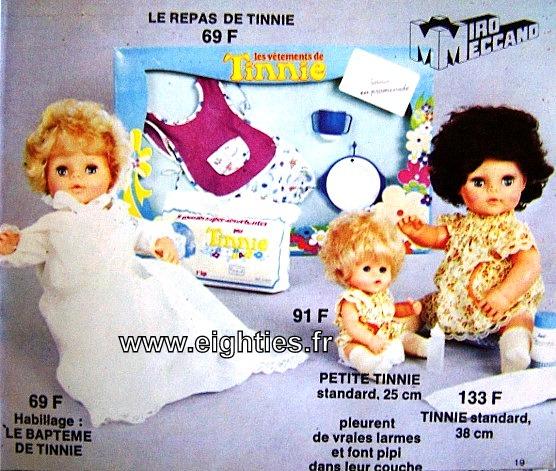 ANNEES 80,80's, eighties, catalogue, jeux, jouets, Noël, enfants, souvenirs, nostalgie, 1980, La samaritaine, cergy, poupées, Tinnie