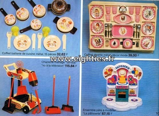 ANNEES 80, 80's, Eighties, catalogue, jeux, jouets, continent, magasins, hypermarchés, supermarchés, nostalgie, souvenirs, Noël, 1981, dinette