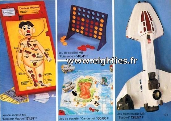 ANNEES 80, 80's, Eighties, catalogue, jeux, jouets, continent, magasins, hypermarchés, supermarchés, nostalgie, souvenirs, Noël, 1981, starbird