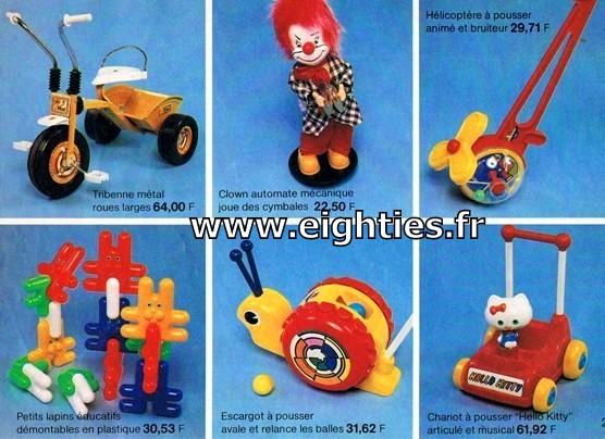 ANNEES 80, 80's, Eighties, catalogue, jeux, jouets, continent, magasins, hypermarchés, supermarchés, nostalgie, souvenirs, Noël, 1981, Hello Kitty