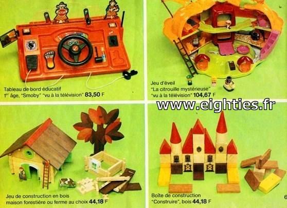 ANNEES 80, 80's, Eighties, catalogue, jeux, jouets, continent, magasins, hypermarchés, supermarchés, nostalgie, souvenirs, Noël, 1981