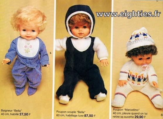 ANNEES 80, 80's, Eighties, catalogue, jeux, jouets, continent, magasins, hypermarchés, supermarchés, nostalgie, souvenirs, Noël, 1981, poupées