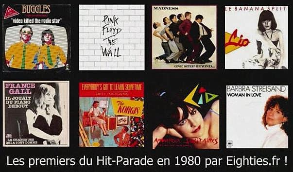 ANNEES 80, 80's, eighties, musique, hit-parade, premiers, tubes, titres, disques, lio, top 50, Marc Toesca, meilleures ventes de disques en 1980
