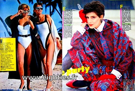 ANNEES 80, 80's, eighties, Femme actuelle, magazine, revue, prisma presse, les facéties de Barnabé, la main tendue, presse, nostalgie, souvenirs