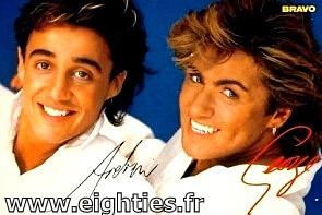 Années 80, 80's, eighties, George Michael, Andrew Ridgeley, wham, musique, top 50, Marc toesca, hit, souvenir, nostalgie