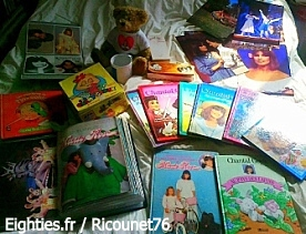 ANNEES 80, 80's, eighties, reportage, collection, passion, chantal goya, rencontre, nostalgie, souvenirs, ricounet76, trentenaires, collections