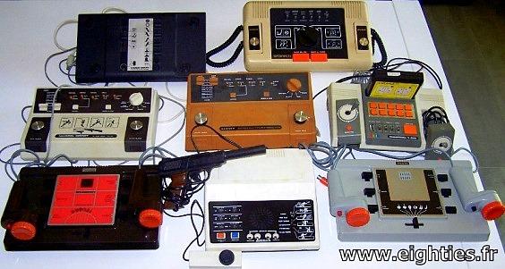 Pong le pr curseur de toutes les consoles de jeux vid o eighties - Ancienne console de jeux ...