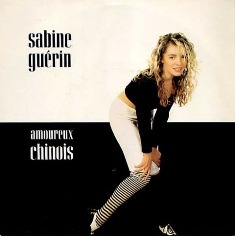 ANNEES 80, 80's, eighties, 1987, Sabine guerin, Guérin, marc lavoine, amoureux chinois, Top 50, Marc Toesca, tube, 45 tours,