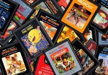 cartouches Atari VCS 2600 années 80 eighties