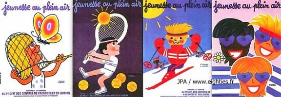 ANNEES 80, 80's, eighties, vignettes scolaires, timbres scolaires, autocollants ecole, souvenirs, nostalgie, JPA, école publique