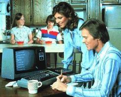 Ordinateur individuel des années 80