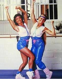 Véronique et davina émission de gym tonic des années 80